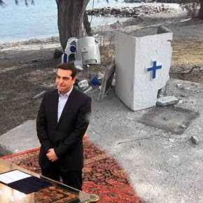Η Ορθοδοξία στο στόχαστρο: «Άγνωστοι» γκρεμίζουν σταυρούς, εκκλησάκια και προκαλούν τους πιστούς – Εικόνες-σοκ από τηνΜυτιλήνη