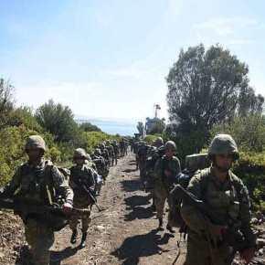 Προκλητικοί οι Τούρκοι πεζοναύτες: Έκαναν «απόβαση» στον Κόλπο τηςΣμύρνης