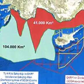 """Η Τουρκία επεκτείνει τις """"διεκδικήσεις""""…μέχρι Γαύδο; Ο χάρτης που έδειξε οΑκάρ"""