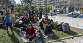 Σχέδιο για μεταφορά των προσφύγων από την Αριστοτέλους σταΔιαβατά