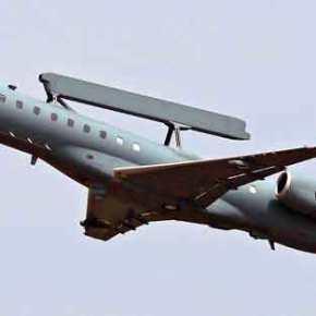 Ιπτάμενο ραντάρ EMB-145H AEW Erieye της ΠΑ σε αποστολή ανίχνευσης των ρωσικών S-300 στην Συρία!(φωτό)