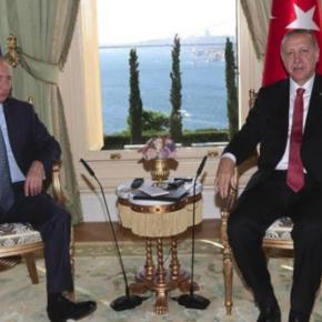 Συνάντηση Πούτιν-Ερντογάν στην Κωνσταντινούπολη