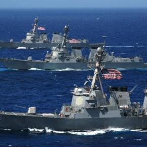 Υπό την επιτήρηση αμερικανικών πολεμικών σκαφών η γεώτρηση της Exxon Mobil μετά τις τουρκικέςιαχές
