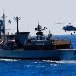 ΕΚΤΑΚΤΟ: Ελληνική φρεγάτα και υποβρύχιο πλέουν προς το τουρκικό ερευνητικό πλοίο Barbaros στην ΑνατολικήΜεσόγειο
