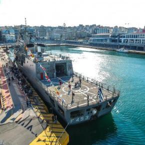 ΓΕΝ: Κοσμοσυρροή στα πλοία του ΠΝ για την επέτειο της 28ης Οκτωβρίου –ΦΩΤΟ