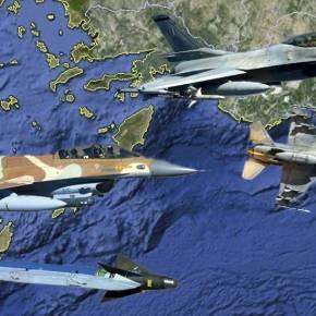 Τα F-16 του Ισραήλ έτοιμα για το Αιγαίο μαζί με της ΠολεμικήςΑεροπορίας