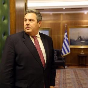 Καμμένος: «Δεν θα κάνουμε ούτε χιλιοστό πίσω στην προστασία της εθνικής μαςκυριαρχίας»