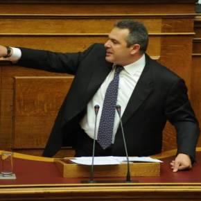 Ξαναχτυπά ο Καμμένος: Και θα μπούμε στη Βουλή και ο Αλέξης θανικήσει