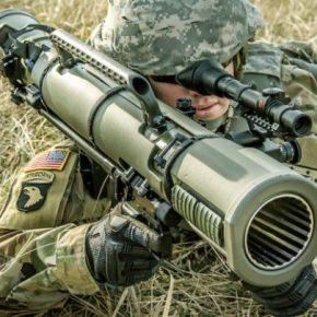 Κατευθυνόμενο πυρομαχικό για τον εκτοξευτή Carl GustafM3E1