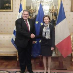 ΥΕΘΑ: Συναντήθηκε με την Υπουργό Άμυνας της Γαλλίας FlorenceParly