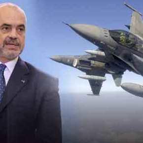 Απίστευτο: H ελληνική Πολεμική Αεροπορία προστατεύει τον Έντι Ράμα και τους δολοφόνους του στηνΑλβανία!