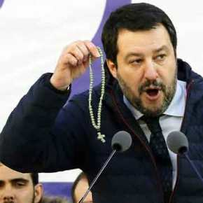 M. Σαλβίνι υπέρ Ελλήνων και Ορθοδοξίας: «Ντροπή, μετανάστες και ΜΚΟ έριξαν Σταυρό στηΛέσβο»