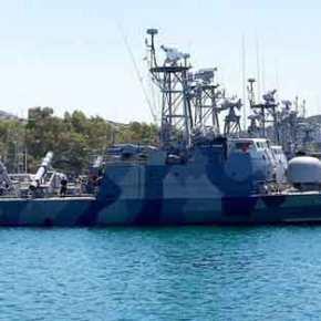 Η «stealth» ΤΠΚ (P29) Σταράκης οπλισμένη με RGM-84 Harpoon αναπτύχθηκε στη Μεγίστη απέναντι από τον τουρκικόΣτόλο