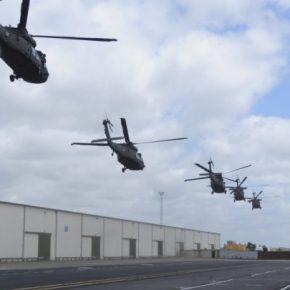 Από την ερχομένη εβδομάδα στο Στεφανοβίκειο αμερικανικός Λόχος Μάχης Αεροπορίας Στρατού.Φωτογραφίες.