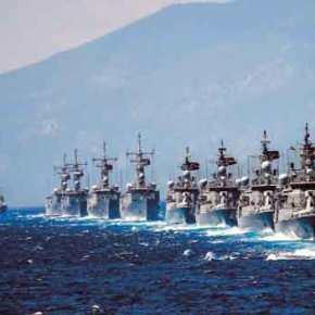 Πέντε μονάδες επιφανείας και δύο υποβρύχια έστειλαν οι Τούρκοι στην Α.Μεσόγειο