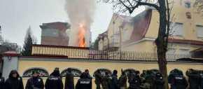 Εκτός ελέγχου η κατάσταση στην Ουκρανία: Πυρπόλησαν το Ρωσικό Προξενείο στο Χάρκοβο (φωτό,βίντεο)