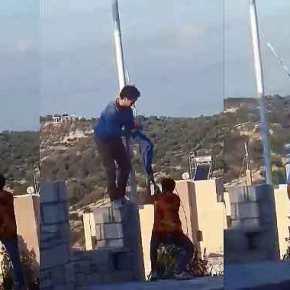 Ανατροπή: Δεν είναι Αλβανοί οι δράστες που κατέβασαν την ελληνικήσημαία