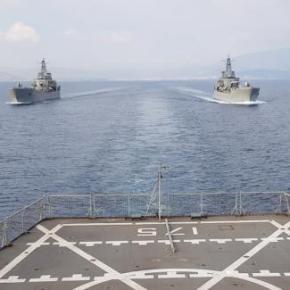 ΑΙΓΙΑΛΟΣ 2018: Μήνυμα κυριαρχίας και συντονισμού από το ΠολεμικόΝαυτικό