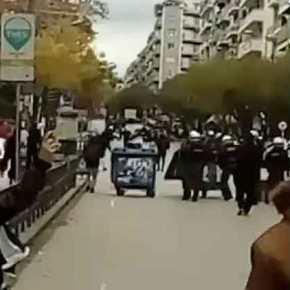 ΑΝΑΡΧΙΚΟΙ του ΣΥΡΙΖΑ… επιτέθηκαν στους μαθητές στην Θεσσαλονίκη… Στην Αγίου Δημητρίου κοντά στοΥΜΑΘ,,,,!