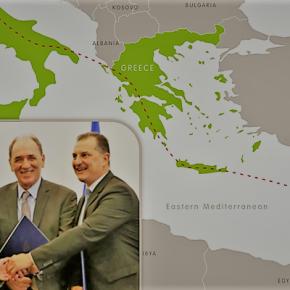 Ο EastMed συνδέει δύο γεωπολιτικούςάξονες