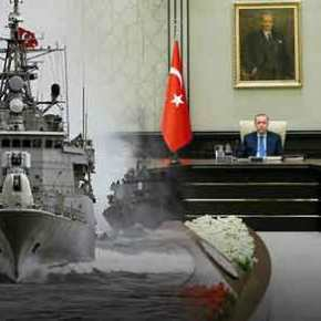 Έκτακτη σύσκεψη Ερντογάν και στρατηγών: «Θα λάβουμε πολύ κρίσιμες αποφάσεις για Αιγαίο-Αν.Μεσόγειο»