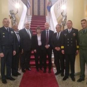 Διεξήχθη Σύσκεψη Αμυντικοτεχνικής Συνεργασίας Ελλάδας-Ισραήλ –ΦΩΤΟ