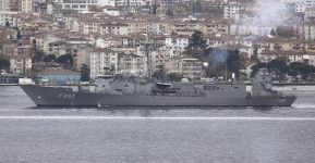 To ραντάρ ÇAFRAD επί τουρκικής φρεγάτας για δοκιμές ενπλω