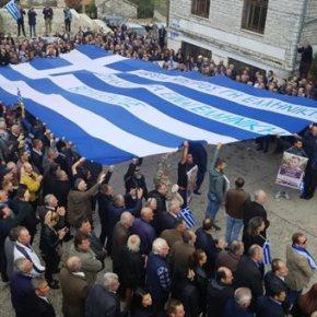 Πλήθος κόσμου στην κηδεία του ΚωνσταντίνουΚατσίφα