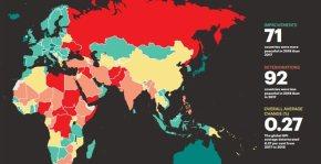 Οι πιο ασφαλείς χώρες του κόσμου: Αυτή τη θέση καταλαμβάνει ηΕλλάδα