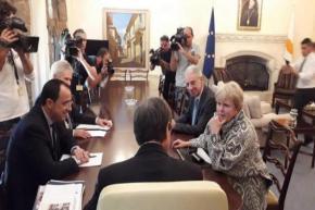 Κυπριακό: Αποκαλύφθηκαν οι όροι αναφοράς για τις διαπραγματεύσεις Αναστασιάδη καιΑκιντζί