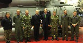Παρουσίαση του ελικοπτέρου MH-60R στο ΠολεμικόΝαυτικό