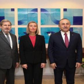 Τουρκία: Αναμένουμε πλήρη ένταξη στην Ευρωπαϊκή Ένωση δήλωσε οΤσαβούσογλου