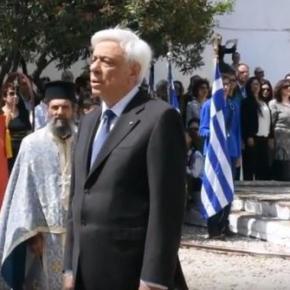 Ηχηρό μήνυμα Παυλόπουλου προς Τουρκία: «Αναφαίρετο δικαίωμα μας η επέκταση τηςαιγιαλίτιδας»