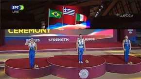 Τεράστια κίνηση από τον Βραζιλιάνο αθλητή Α.Ζανέτι: Χαιρέτισε στρατιωτικά στο άκουσμα του Εθνικού μας Ύμνου(βίντεο)