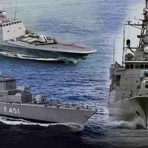 Πρώτη επαφή ελληνικών και γαλλικών πολεμικών πλοίων με τουρκική πυραυλάκατο σε δεσμευμένη περιοχή τηςΚύπρου