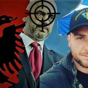 Σημαιοφόρος της «Μεγάλης Αλβανίας» οΡάμα