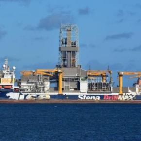To Stena Ice Max της Exxon έφτασε και βάζει μπροστά τα τρυπάνιατου