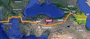 Διασυνδέθηκαν στον Έβρο οι αγωγοί φυσικού αερίου TANAP καιTAP
