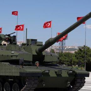 Τουρκία: Συμφωνία αξίας 7 δισ. για τη μαζική παραγωγή αρμάτων μάχης Altay  .Συνολικά η Τουρκία θα παράγει 250 άρματα μάχης.