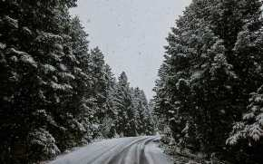 Τα πρώτα χιόνια έφερε η «Πηνελόπη» (φωτογραφίες –βίντεο)