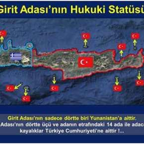 Η Άγκυρα ετοιμάζεται για σύγκρουση – Χάρτες-πρόκληση: «Η Κρήτη είναι τουρκική, δεν ανήκει στηνΕλλάδα»