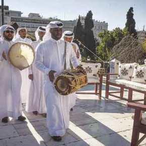 Είναι εικόνες αυτές; Ο Καμίνης μετέτρεψε την πλατεία Συντάγματος σε χαλιφάτο τουΚατάρ