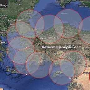 Ετοιμάζονται για προκλήσεις οι Τούρκοι: Nέα δοκιμή πυραύλου ATMACA στηνΣινώπη