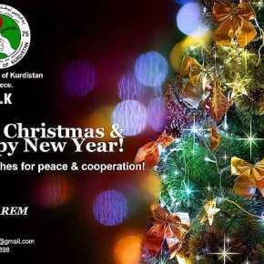 Ευχές από το Γραφείο Εκπροσώπησης της Πατριωτικής Ένωσης του Κουρδιστάν στηνΕλλάδα