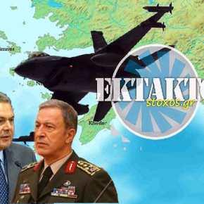 Τουρκικά μαχητικά πάνω από το Καστελόριζο ΠΑΡΕΝΟΧΛΗΣΑΝ την αποχώρηση του ΈλληναΥΠΑΜ…!!!