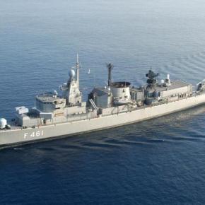 Εστιασμένη περιπολία ασφαλείας του ΝΑΤΟ στην Ανατολική Μεσόγειο Θάλασσα με Έλληναδιοικητή