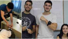 Τρεις 23χρονοι Έλληνες φοιτητές από τη Θεσσαλονίκη έφτιαξαν μηχάνημα που πολεμά τη νόσο τουΠάρκινσον