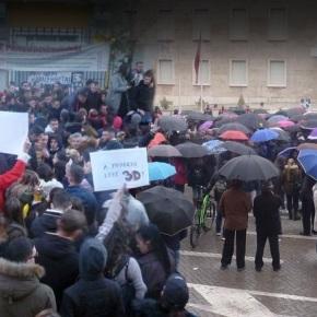 Εξεγείρονται οι φοιτητές στηνΑλβανία