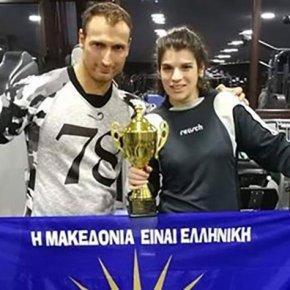 Συγκλόνισε η «ασημένια» Α.Τσομπάνη: Μπήκε στο ρινγκ με το «Μακεδονία Ξακουστή» & «τυλιγμένη» με τον ήλιο τηςΒεργίνας