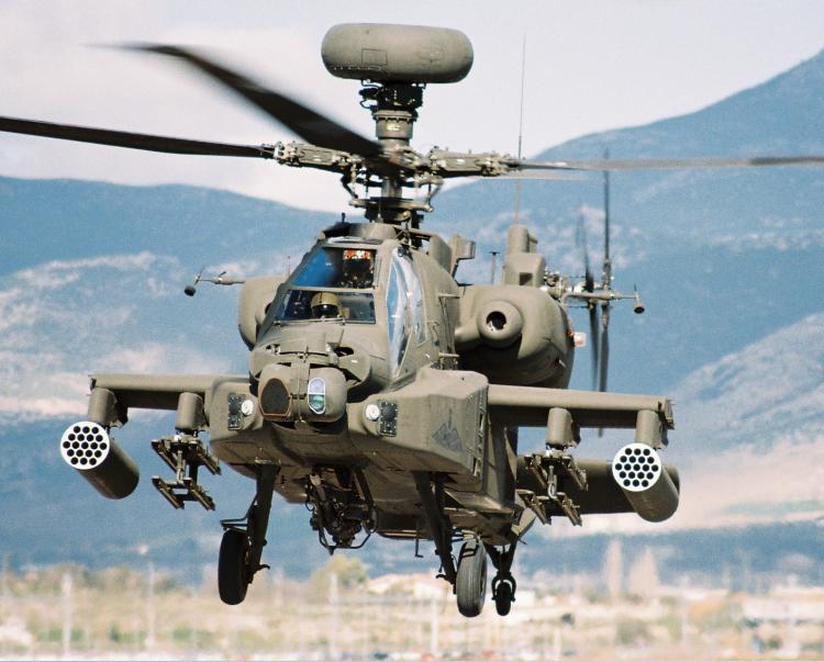 Ελικόπτερα Apache: Η «αιχμή του δόρατος» της Αεροπορίας Στρατού ...